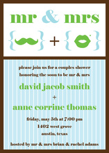 Mr. and Mrs. Shower Invitations