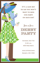 Derby Fans Party Invitations