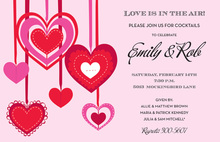 Heart Deco Invitations