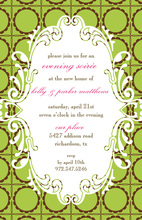 Green Gala Event Invitation
