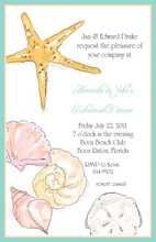 Iconic Ocean Items Invitation