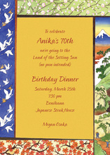Japanese Inspired Culture Invitations
