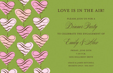 Wonderful Hanging Love Invitations