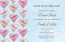 Magnificent Hanging Love Invites