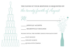 Outlined Celebrations RSVP Cards