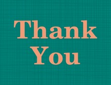 Modern Formal Teal Thank You Cards