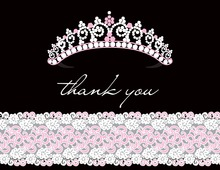 Your Highness Princess Thank You Cards