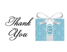 Splendid Bride Gifts Thank You Cards