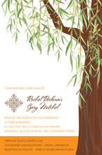 Unique Design Heritage Willow Tree Invitations