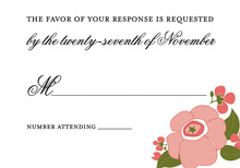 Best Pink Ever RSVP Cards