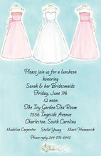 Bride Bridesmaids Invitation