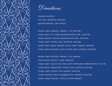 Dove Design Blue Enclosure Cards