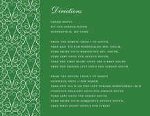 Dove Design Green Enclosure Cards