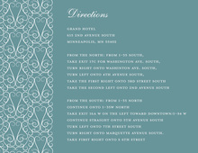 Dove Design Teal Enclosure Cards