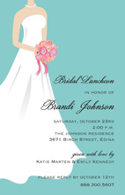 Classy Standing Front Bride Invitations