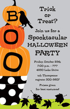 Boo Stack Invitation