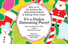 Holiday Treats Invitation