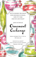 Ornament Array Invitations