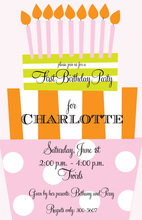 Fun One Girl Invitations