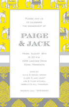 Elephant Mix Invitations