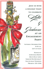 Holiday Bubbly Holiday Invitations