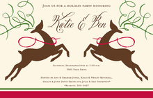 Reindeer Grace Invitations