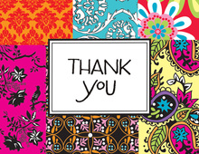 Bohemian Thank You Cards