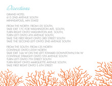 Sea Coral Beauty Enclosure Cards