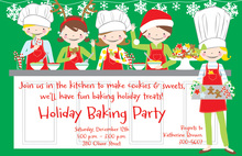 Cookie Kids Invitation