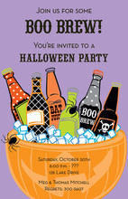 Spooky Suds Invitation