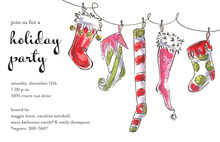 Jolly Socks Invitation