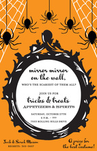 Goth Frame Invitation