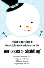 Let it Snowman Invitations