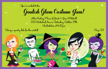 Costume Jam Invitation