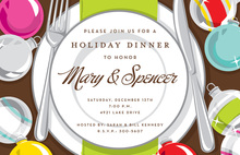 Jolly Plate Invitation