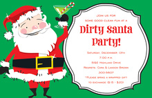 Dirty Santa Invitation