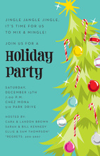Jingle Tree Invitation