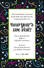 Party Confetti Invitations
