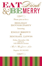 Be Merry Invitations