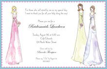 Bridal Dresses Invitations