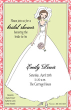 Modern Bride Invitation