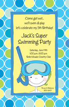 Little Swimmer Invitations