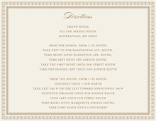 Layered Brown Vintage Borders Enclosure Cards