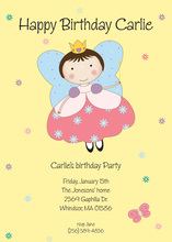 Flying Fairy Princess Invitations