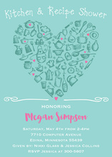 Kitchen Icon Love Invitations