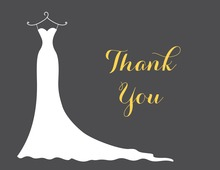 Yellow Bridesmaids Thank You Cards