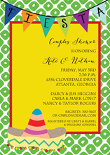 Fiesta with Sombrero Invitation