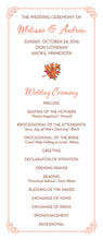 Fall Flourished Corners Invitation