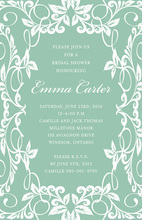 Fern Foliage Invitations