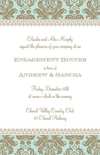 Meet me at the Waldorf Invitations